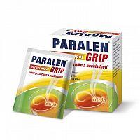 PARALEN GRIP horúci nápoj citrón 650 mg/10 mg plu por 1x6 vrecúšok