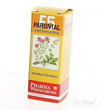 PARONTAL F5 ústna voda 1x20 ml