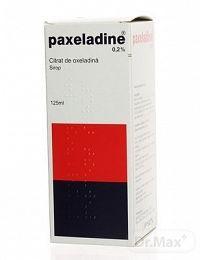 PAXELADINE 0,2 PERCENT SIRUP sir (fľaša skl.) 125 ml