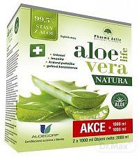 Pharma Activ AloeVeraLife NATURA + Bilberry 55 tbl ZADARMO šťava z aloe 99,5% 2x1000 ml (2000 ml), 1x1 set