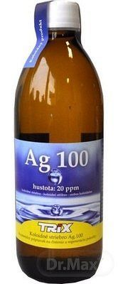 Pharma Activ Koloidné striebro Ag100 hustota 20 ppm, 1x500 ml