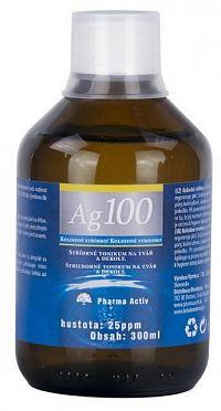 Pharma Activ Koloidné striebro Ag100 hustota 25ppm 1x300 ml