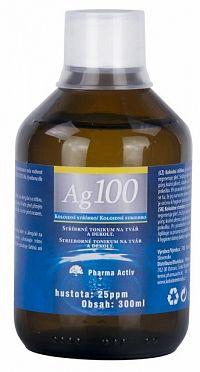 Pharma Activ Koloidné striebro Ag100 hustota 25ppm, 1x300 ml