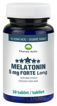 Pharma Activ MELATONÍN 5 mg FORTE Long tbl 1x30 ks