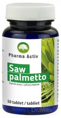 Pharma Activ Saw palmetto tbl (inov.2020) 1x50 ks