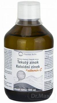 Pharma Activ Tekutý zinok Zn + Vitamín C 1x300 ml