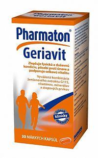 Pharmaton Geriavit mäkké kapsule, 1x30 ks