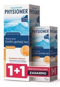 PHYSIOMER Hypertonický pack nosový sprej s obsahom morskej vody 135 ml + 20 ml , 1x1 set