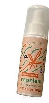 Pureline repelent NATURA pre deti a dospelých 1x100 ml
