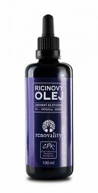 Renovality ricínový olej lisovaný za studena 100 ml