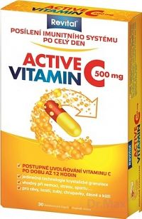 Revital ACTIVE VITAMIN C 500 mg cps 1x30 ks