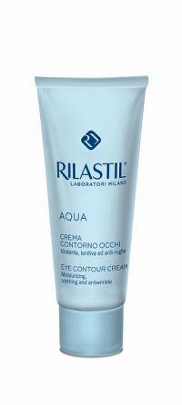 Rilastil Aqua hydratačný očný krém tuba 15 ml