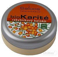 Saloos bioKarité rakytníkový balzam čistý prírodný produkt,1x50 ml