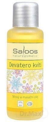 Saloos Devätoro kvetov telový a masážny olej 1x50 ml