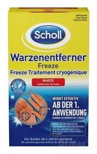 Scholl Freeze Sprej na odstraňovanie bradavíc metóda zmrazenia (4002448095570) 1x80 ml