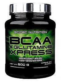 Scitec - BCAA+Glutamine Xpress - citrusová príchuť 600g