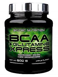 Scitec - BCAA+Glutamine Xpress - jablková príchuť 600g