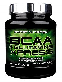 Scitec - BCAA+Glutamine Xpress - žuvačková príchuť 600g