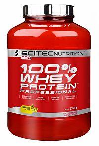 Scitec - Whey Protein Prof. - banánová príchuť 2350g