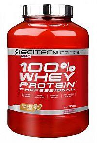 Scitec - Whey Protein Prof. - čokoládovo oriešková príchuť 2350g