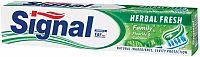 Signal zubná pasta Family herbal fresh 75 ml