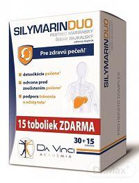 SILYMARIN DUO - DA VINCI cps 30+15 (45 ks)