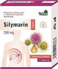 Silymarin forte + vitamin D3 1x40 tbl.