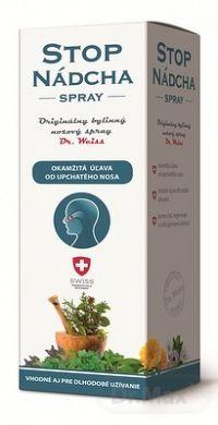STOPNÁDCHA - Dr.Weiss bylinný nosový spray 1x30 ml