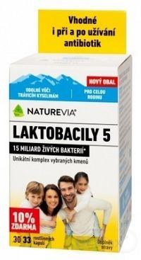 Swiss Laktobacily 5 enterický povlak 30 kapsúl