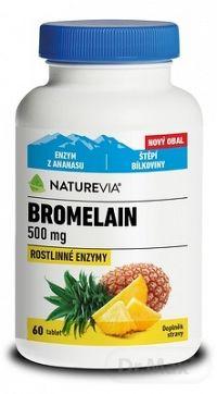SWISS NATUREVIA BROMELAIN 500 mg tbl (inov.2019) 1x60 ks