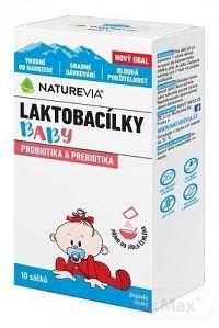 SWISS NATUREVIA LAKTOBACILKY BABY vrecúška 1x10 ks