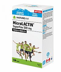 SWISS NATUREVIA MicroLACTIN SuperFlex 500 mg cps 1x120 ks