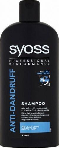 Syoss Anti Dandruff Control šampón na vlasy proti lupinám 500 ml