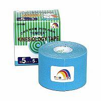 TEMTEX KINESOLOGY TAPE tejpovacia páska, 5 cm x 5 m, modrá 1x1 ks
