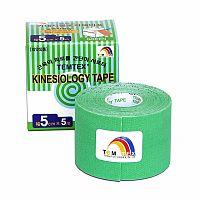 TEMTEX KINESOLOGY TAPE tejpovacia páska, 5 cm x 5 m, zelená 1x1 ks