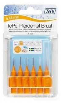 TePe Interdental medzizubné kefky 0,45 mm 6 ks