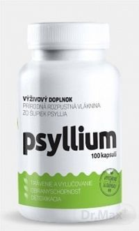 Top Green Psyllium cps 1x100 ks