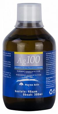 Trix Koloidné striebro Ag100 40 ppm 300 ml
