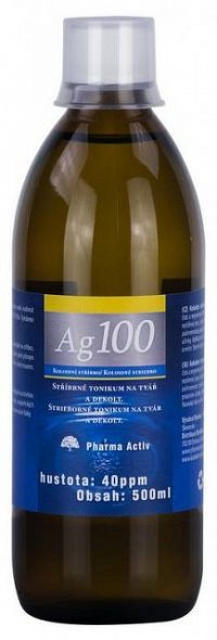 Trix Koloidné striebro Ag100 40 ppm 500 ml