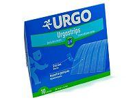 URGO Urgostrips STERILE SKIN CLOSURE STRIPS sterilné samolepiace chirurgické stehy (100 mm x 6 mm) 1x10 ks