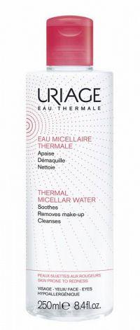 Uriage Eau Micellaire Thermale micelárna čistiaca voda pre citlivú pleť so sklonom k začervenaniu 250 ml