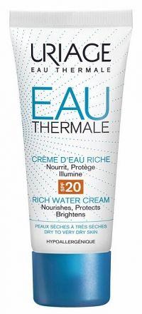 URIAGE EAU THERMALE Hydratačný krém na tvár s SPF20 40ml - pre suchú pleť