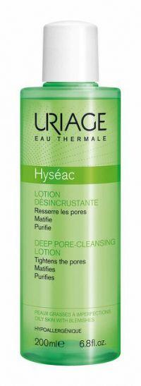 Uriage Hyséac čistiaca pleťová voda pre mastnú pleť Deep Pore Cleansing Lotion 200 ml