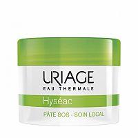 Uriage Hyséac lokálna starostlivosť na noc proti nedokonalostiam aknóznej pleti SOS Paste - Local Skin-Care Spot Control Purifying 15 g