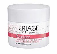 Uriage Roséliane vyživujúci denný krém pre citlivú pleť so sklonom k začervenaniu (Anti - Redness Rich Cream) 50 ml