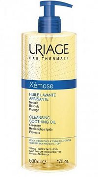 Uriage Xémose čistiaci olej na tvár a telo 500 ml