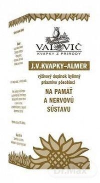 Valovič J.V. KVAPKY ALMER na pamäť a nervovú sústavu 50 ml