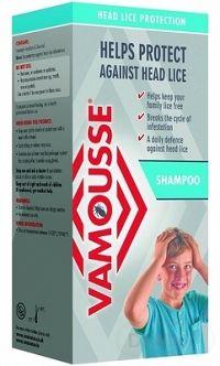 VAMOUSSE - ochrana hlavy proti všiam 1x200 ml, šampón