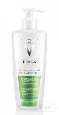 VICHY DERCOS ANTI-DANDRUFF DRY šampón proti lupinám na suché vlasy (M9099601) 1x390 ml