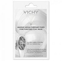 VICHY MASQUE Čistiaca ílová maska balenie vo vrecúšku 2x6 ml